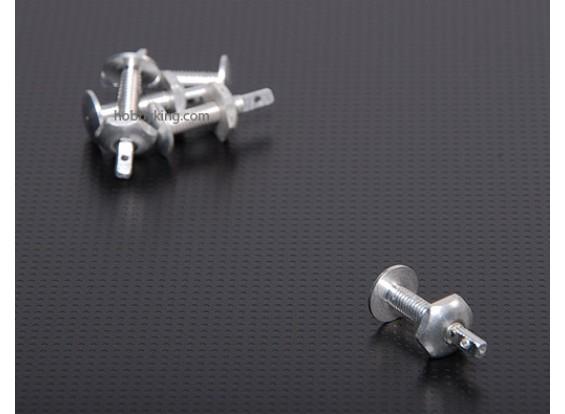 Aluminium Schroef Horns M4x24mm (5pcs / set)