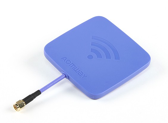 Aomway 5.8GHz CP patch antenne 14Ddbi (RHCP) (SMA)