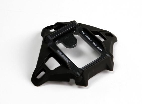 FMA Wilcox 4 Hole Scherm (zwart)