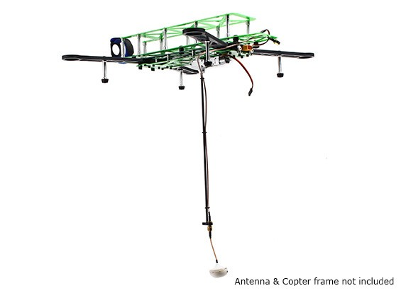 HobbyKing ™ Retractable FPV antenne systeem met Extension Cable