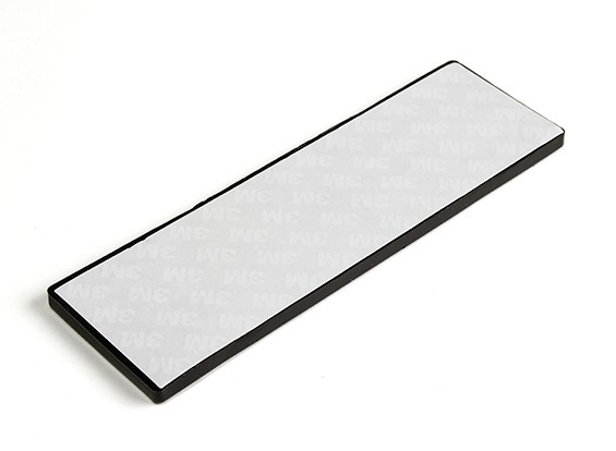 Vibration Absorption Sheet 145x45x3.3mm (zwart)