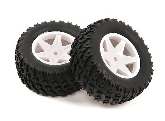 H-King Sand Storm 12/01 2WD Desert Buggy - Volledig Rear Tire Set (2 stuks)