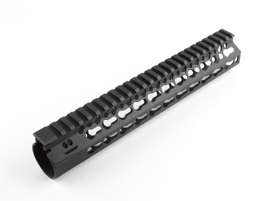 Dytac Bravo Rail 10 inch voor Tokyo Marui Profile (M31.8 / P1.5, Zwart)