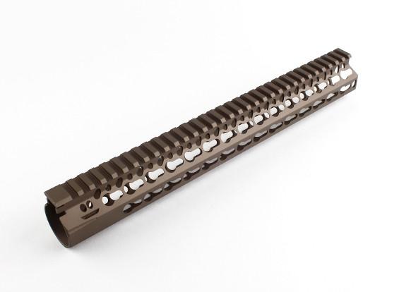 "Dytac Bravo Rail 13 inch voor Systema PTW profiel (1 1/4 ""/ 18, Dark Earth)"