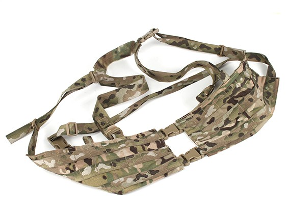 Grey Ghost Gear Assault Borst Rig- Split Front (Multicam)