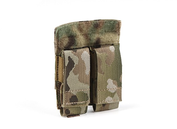 Grey Ghost Gear Double Pistol Mag Pouch (Multicam)
