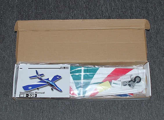 KRAS / DENT MB-339 Profiel 30mm EDF (Kit + Motor)