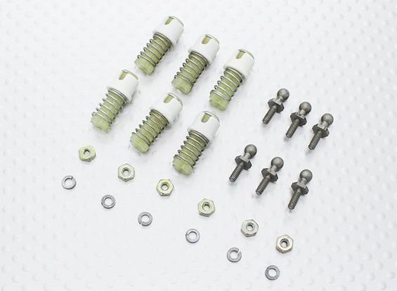 Ball Connector met Locking Sleeve 2-56 grootte (6pcs / pack)
