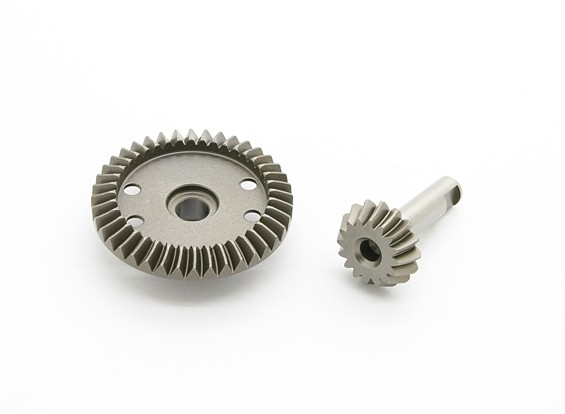 Steel 16T / 40T Diff. Gear - BZ-444 Pro 1/10 4WD Racing Buggy