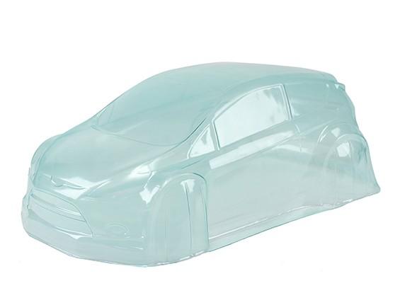 Un-cut Clear Lexan Body Shell w / sticker - BSR Racing 1/8 Rally