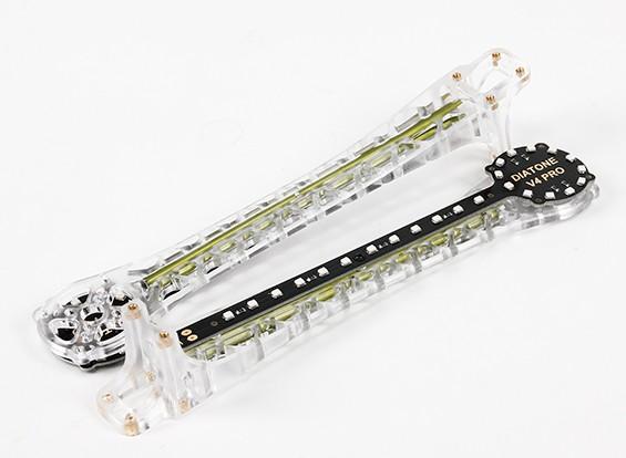 Upswept LED wapens voor V500 / H550 en DJI Flamewheel Multirotors (Groen) Upgrade (2 stuks)