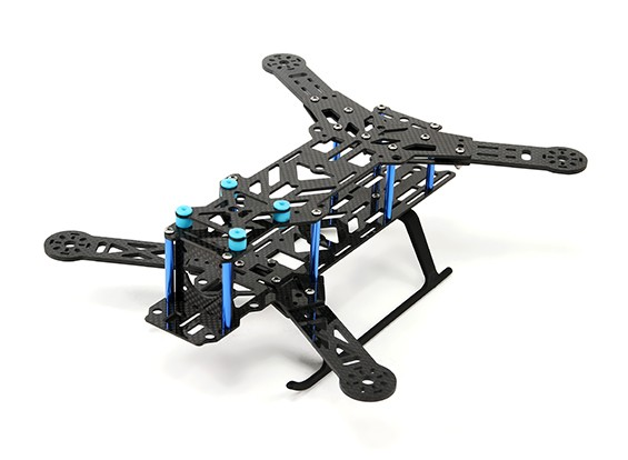 HobbyKing ™ SMACK 300 Premium Ready FPV Folding Drone Frame (KIT)