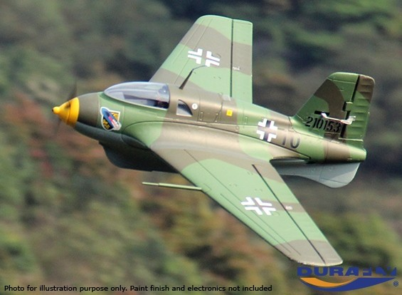 Durafly ™ Me-163 Komet 950mm High Performance Rocket Fighter (Unpainted Kit Edition)