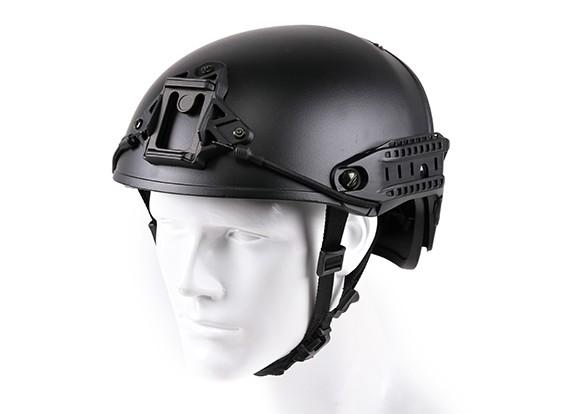 Helm CP Airframe stijl helm (zwart)