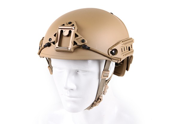 Helm CP Airframe stijl helm (Dark Earth)