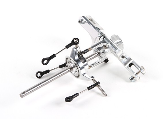 Assault 450L Flybarless 3D Helicopter CNC Main Rotor Head Assembly