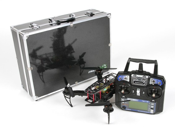 HobbyKing ™ Black Widow 260 FPV Racing Drone RTF Set (Modus 1)