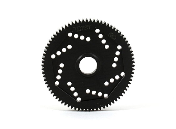 Revolution Ontwerp 48DPX 78T R2 Precision Spur Gear voor Hex Type Slipper Pad