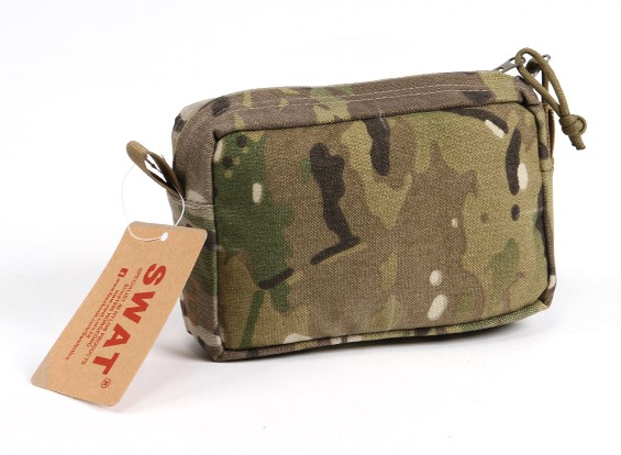 SWAT Molle Horizontaal Accessory Pouch (Multicam)