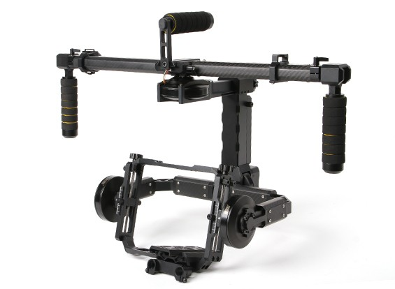 DYS FUNN 3 Axis Gimbal Voor Red Epic, BMCC Cameras