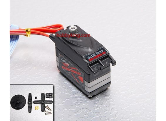 BMS-810DMGplusHS High Performance Digital Servo (Metal Gear) 7,2 kg / .19sec / 45g