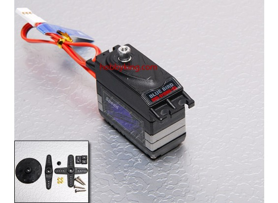 BMS-811DMGplusHS High Performance Digital Servo (Metal Gear) 5,0 kilo / .15sec / 45g