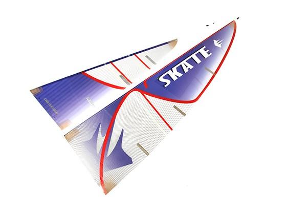 Skate 1000 Trimaran zeilboot 1700mm Replacement Sail Set