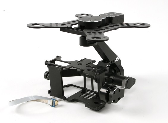 X-CAM A22-3H 3 Axis Gimbal System voor Sony NEX5, NEX7 & BMPCC
