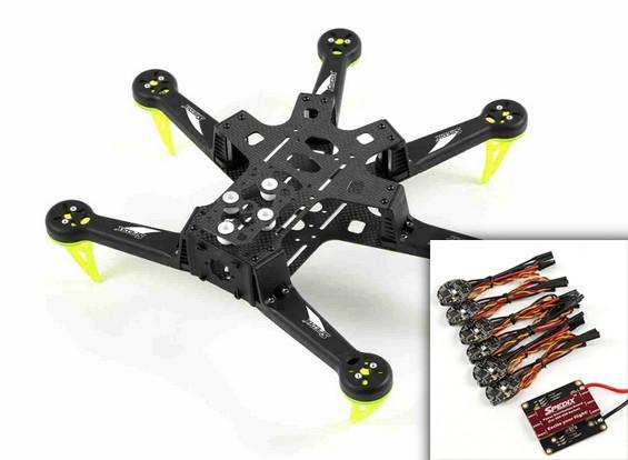 Spedix S250AH Drone Kit W / ESC VOB Combo