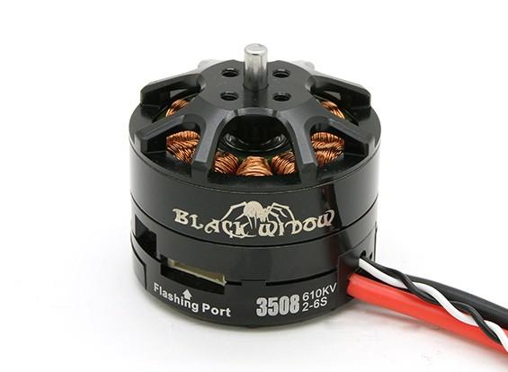 Black Widow 3508-610Kv met ingebouwde ESC CW / CCW