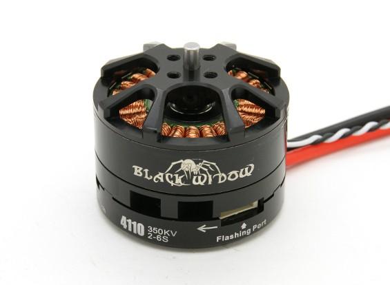 Black Widow 4110-350Kv met ingebouwde ESC CW / CCW