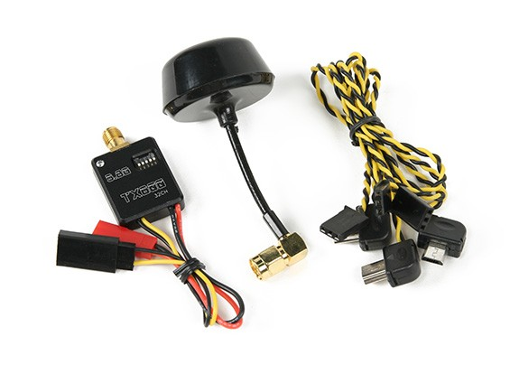 5.8G 32CH 600mW Super Mini A / V FPV-zender voor Mobius / Action Cam / GoPro