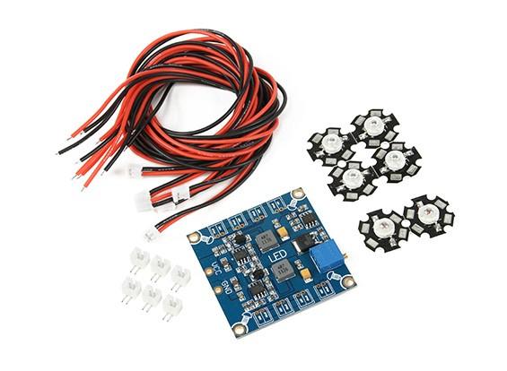 Frequentie verstelbare Hexacopter LED Light Module Set