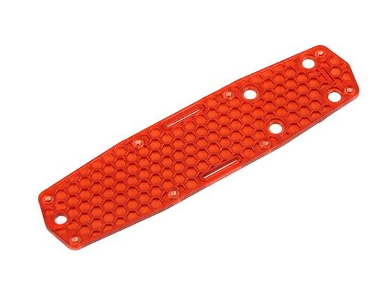 HobbyKing ™ Color 250 Upper Deck Plate (Rood)