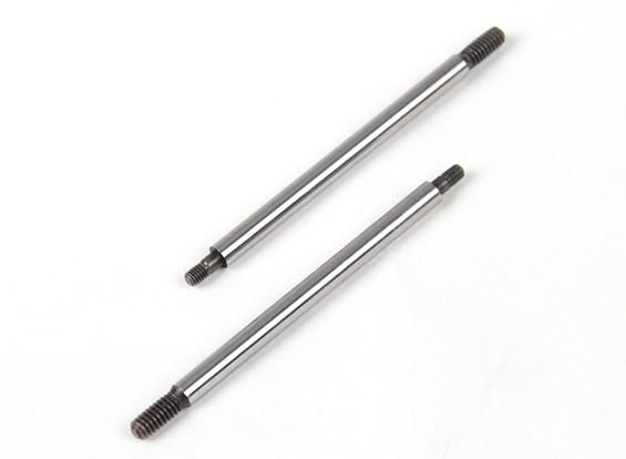 BSR Beserker 1/8 Truggy - Shock Shaft 4x66mm (achter) (2 stuks) 814161
