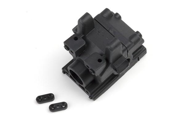 BSR Beserker 1/8 Truggy - Versnellingsbak Case 816.203