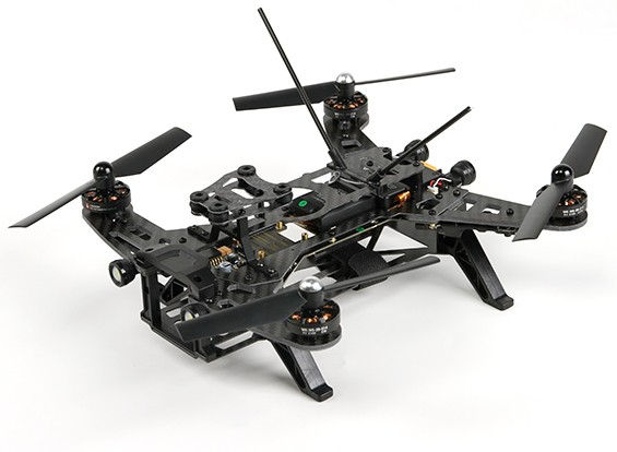 Walkera Runner 250 FPV Racing Quadcopter w / Motors / ESC / Flight Controller / ontvanger (PNF / B & F)