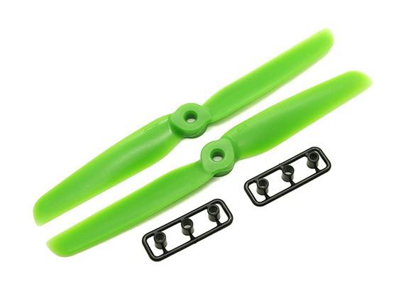 Gemfan 6030 GRP / Nylon Schroeven CW / CCW Set (Groen) 6 x 3