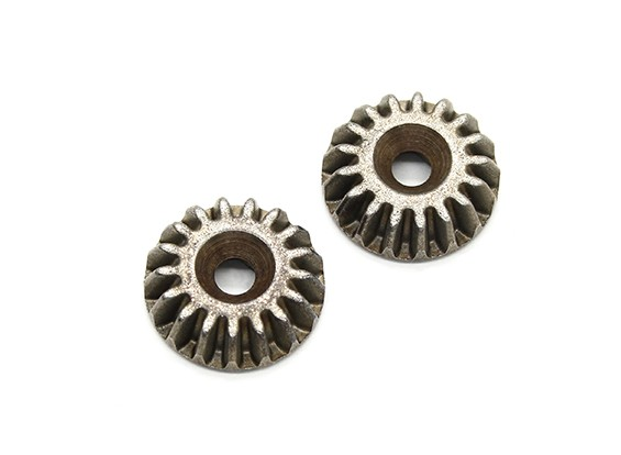 BSR Racing M.RAGE 4WD M-Chassis - 17T Metal Differential Input Gears (2 stuks)