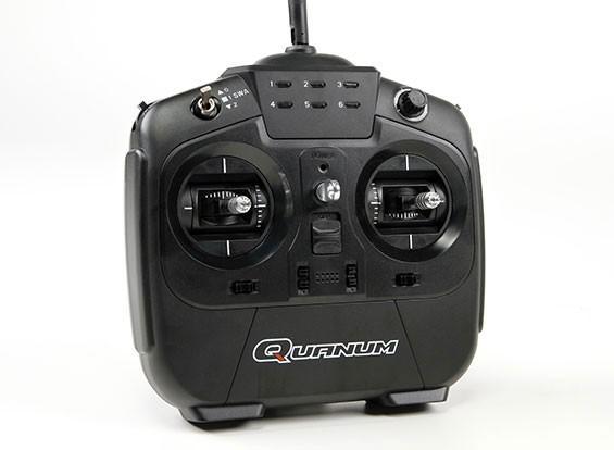 Quanum i8 8-kanaals 2,4 GHz AFHDS 2A digitale proportionele Radio System Mode 2 (zwart)
