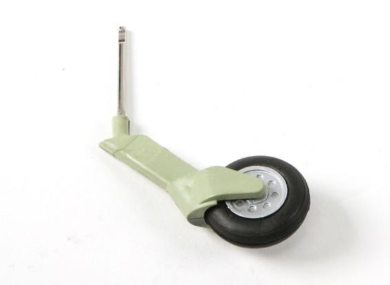 Durafly ™ Spitfire Mk1a Tail Wheel en Strut