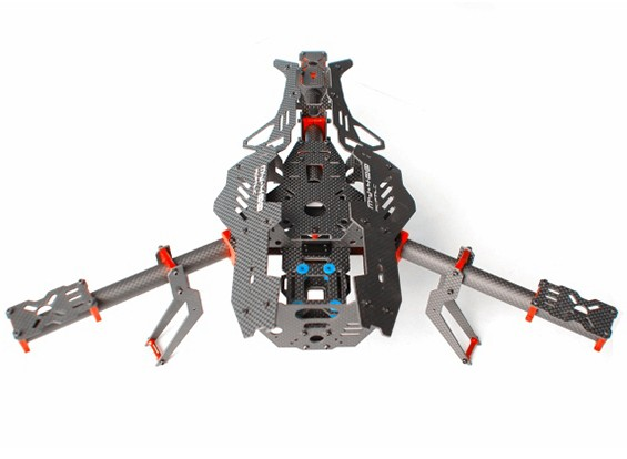 Mosquito Y400 400mm 3-assige Fiber Tricopter Frame (Y6 CONFIG)