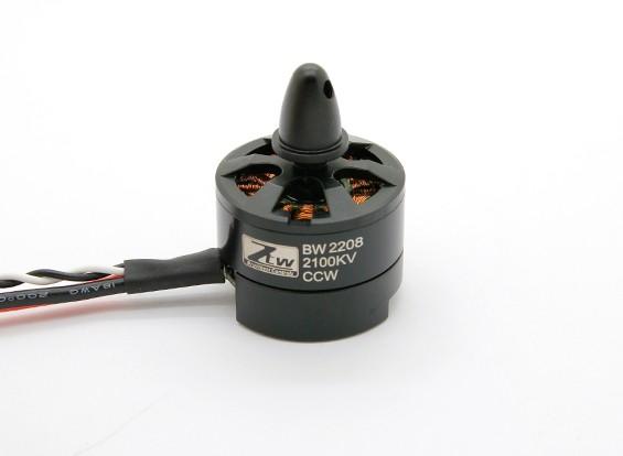 Black Widow 2208 2100KV Met ingebouwde ESC CCW