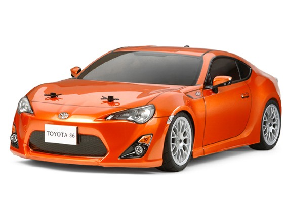 Tamiya 1/10 Toyota 86 w / TA06 Chassis Kit 58530