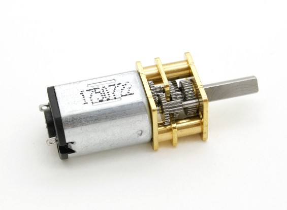 Geborsteld Motor 15mm 6V 20000KV w / 256: 1 Ratio Gearbox