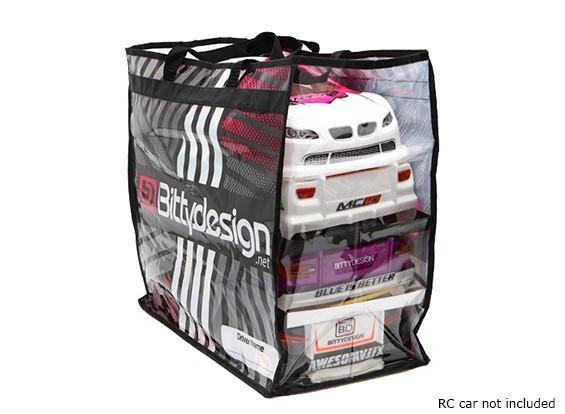 Bittydesign Carry Bag voor 1/10 Touring lichamen (190 - 200mm)