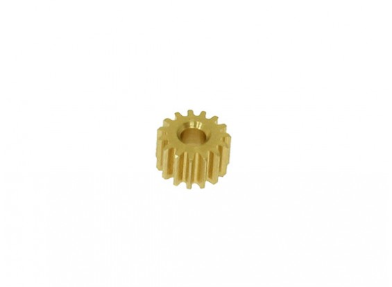 Gaui 100 & 200 Size 15T Pinion Gear voor 2.3mm as (901503)