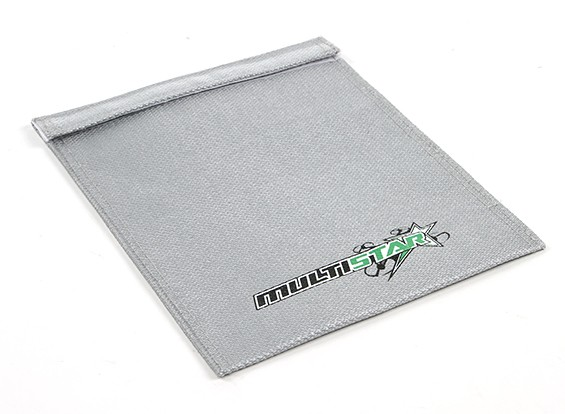 MultiStar brandvertragende LiPoly accutas (Flat) (210x165mm) (1 st)