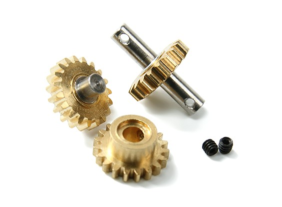 Orlandoo OH35P01 4WD - Upgrade / Spare Part Alu. Gearbox Gear