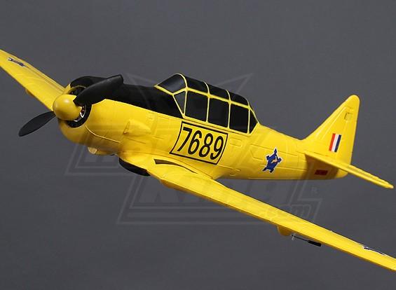 Hobbyking AT-6 borstelloze Plug-n-Fly (Geel)